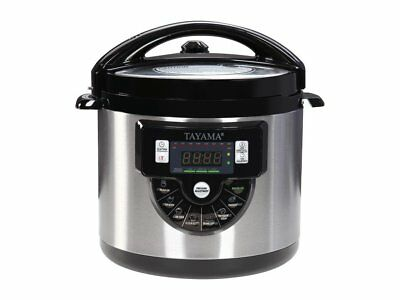 Tayama TMC-60XL 6 quart 8-in-1 Multi-Function Pressure Cooke
