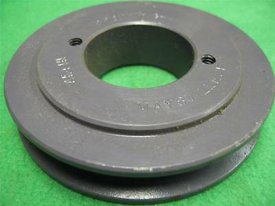 Browning Ak41h Bushed Sheave 4l A Ax V-belt Motor Drive Pulley 3.95 Pully