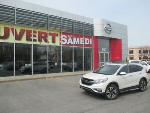 2015 Honda CR-V TOURING  CUIR+TOIT+NAV TOURING  LEATHER+ROOF+NAV