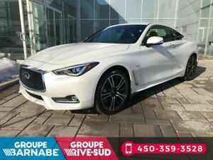2018 Infiniti Q60 Coupe 3.0T AWD SPORT TOIT OUVRANT GPS 3.0T AWD