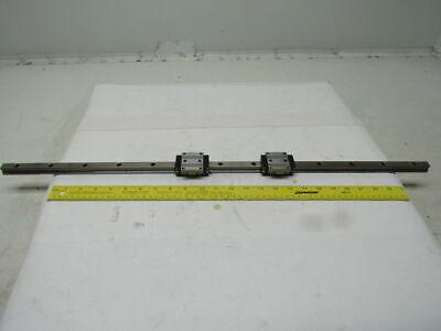 Rexroth R165111420 2 Linear Guide Bearing Blocks W30-12 Rail