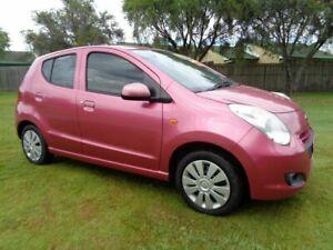 2013 Suzuki Alto GF GL Pink 5 Speed Manual Hatchback Kippa-ring Redcliffe Area Preview