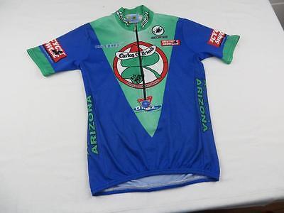 Squadra Mens Carlos O Briens Cycling Bike Jersey Shirt Size Medium Arizona  USA 995abac7c