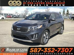 2017 Kia Sorento SX Turbo / Back up Camera / Navi / Leather Seat