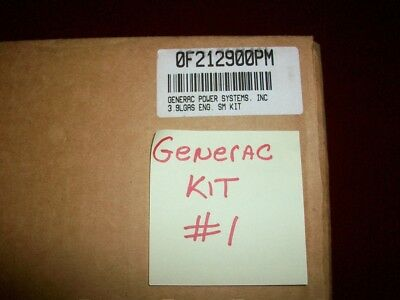 GENERAC GENERATOR PREVENTATIVE MAINTENANCE KIT # 0F212900PM 3.9L GAS ENGINE NOS for sale  Shipping to India
