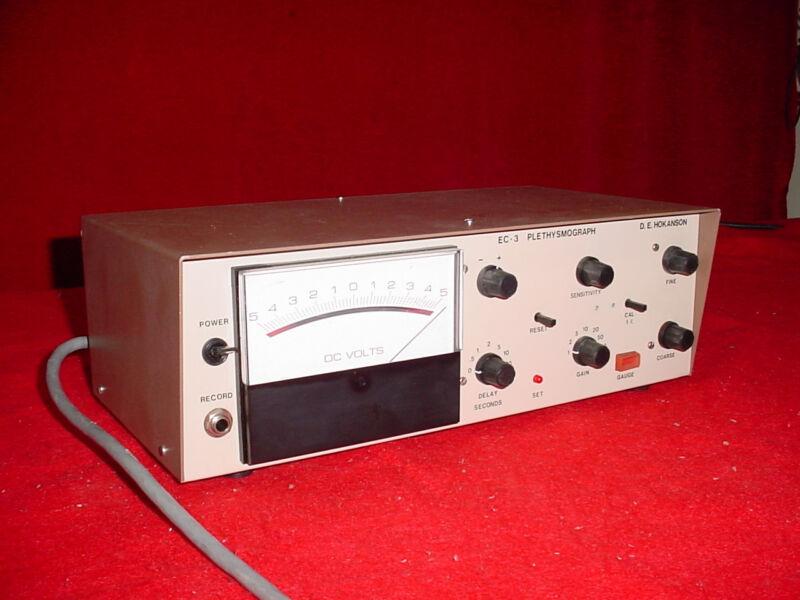 D.E. Hokanson EC-3 Strain Gauge Plethysmograph EC3