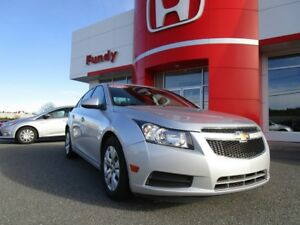 2013 Chevrolet Cruze LT Turbo w/ A/C, B/T, $113.16 B/W LOW KM, N