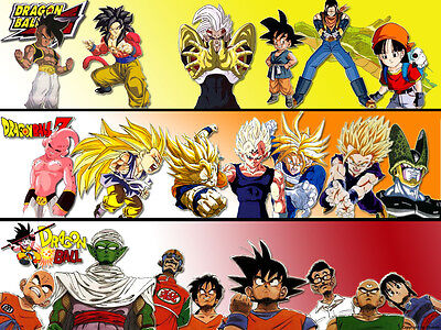Dragon Ball, Dragon Ball Z, Dragon Ball GT UNCUT Complete Anime Series + Movies