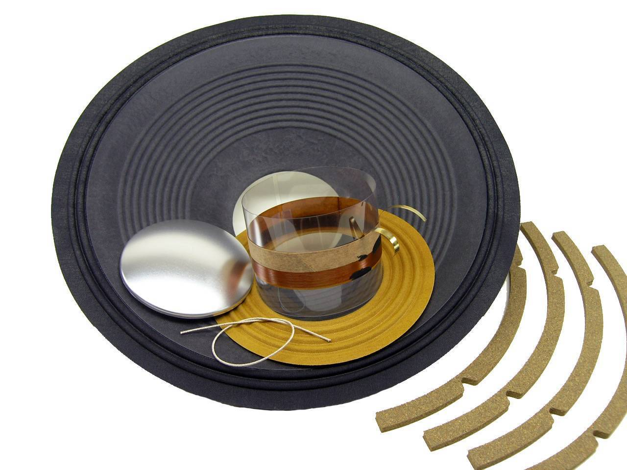 """Recone Kit for JBL 2226H 2226G 4 or 8 ohm 15/"""" Woofer SS Audio Speaker Parts"""