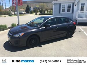2014 Subaru Impreza TOURING- $115 B/W AWD w/ 5 SPEED MANUAL..HEA