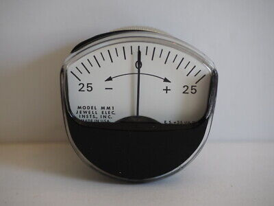 Jewell Electrical Panel Meter Ammeter Model Mm1