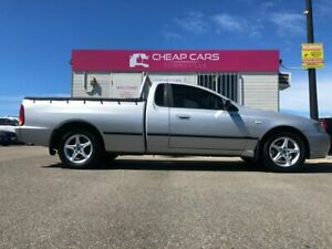 2005 Ford Falcon BF XL Ute Super Cab Silver 4 Speed Automatic Utility Garbutt Townsville City Preview