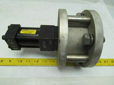 Parker 01.50 Tb2au14a 2 Vacuum Vent Relief Valve Flanged Cylinder Pneumatic