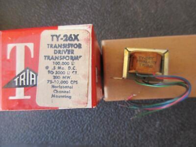Triad Miniature Driver Transistor Transformer Ty-26x Pri 100k Sec 3k 200mw