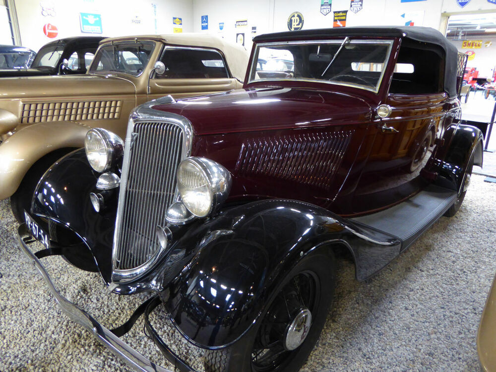 Ford 760 Cabriolet 1934