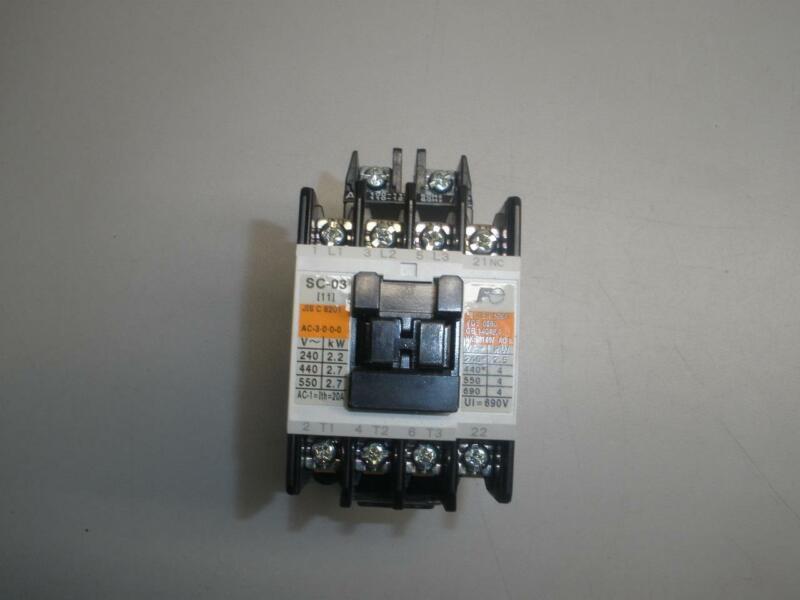 NEW Fuji AC contactor SC-03
