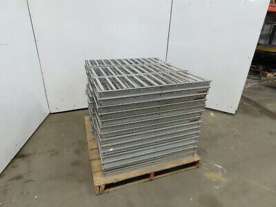 Selectrak Carton Flow Gravity Roller Conveyor 12-12 X 35-34 Lot Of 42