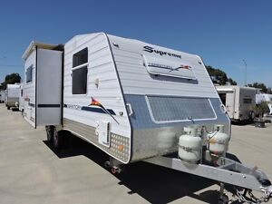 2012 24' Supreme Territory Slide Out Caravan (2 door entry) Craigieburn Hume Area Preview
