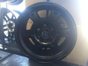 "Set Of 4 X 18"" 6/139.7 American Racing ATX Rims"