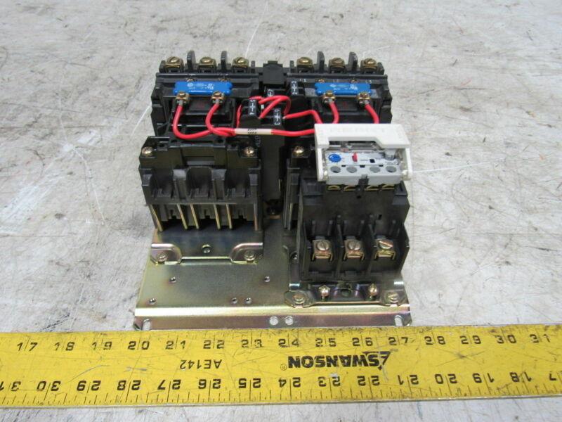A-B Allen Bradley 505-BOD-A2G Full Voltage Reversing Starter 110/120V NEMA 1
