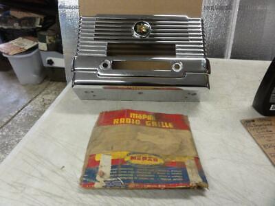 Vintage NOS 1950 Dodge Radio Face Plate Dash Mopar 1254836