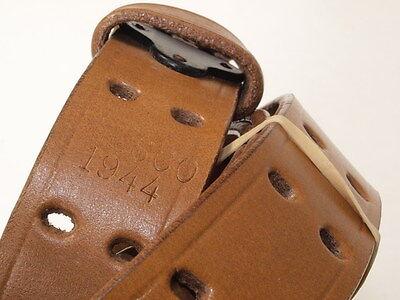 M1907 leather sling (1)  repro WW2 style black steel hook  1942, 1944 MILSCO for sale  La Crosse