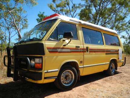 LONG CAMPERVAN TOYOTA HIACE FULL EQUIPED !! Rego W.A 5 Months Hobart CBD Hobart City Preview