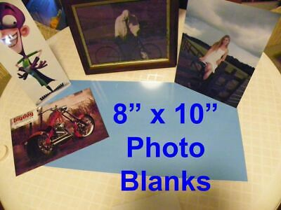 8 X 10 Aluminum Sublimation Photography Blanks With Protective Pvc 10pcs