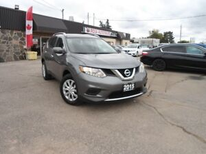2015 Nissan Rogue AWD LOW KM NO ACCIDENT B-TOOTH BACKUP CAM PW P