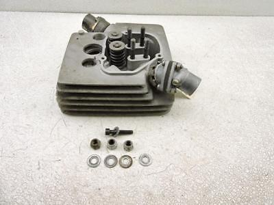 FRONT CYLINDER HEAD AND MANIFOLD 1974 MOTO MORINI 3 12 SPORT 350S 105