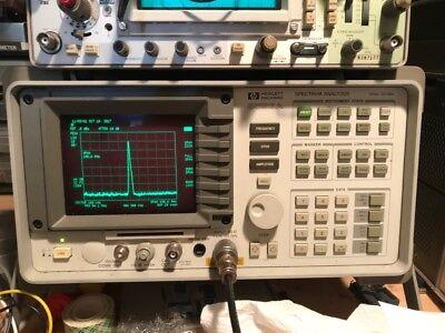 HP 8593A Portable Spectrum Analyzer 9 KHz - 22 GHz