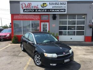 2003 Saturn Ion UPLEVEL LEATHER ALLOYS NO ACCIDENTS