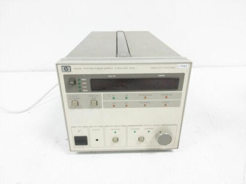 HP 6033A POWER SUPPLY 20 V 30 A 200 W ~ HEWLETT PACKARD - PARTS