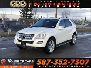 2011 Mercedes-Benz M-Class ML350 BlueTEC / Back up Camera / Navi