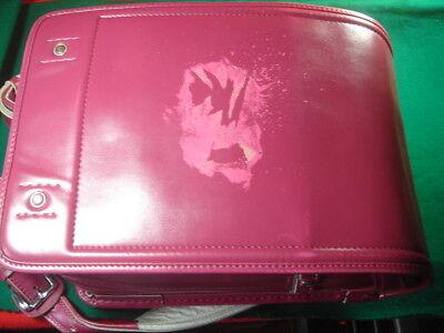 USED Japanese School Backpack Randoseru PINK