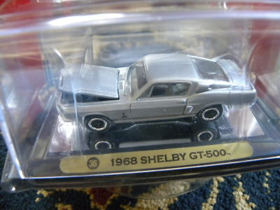 (1968 SHELBY MUSTANG GT-500   2007 JOHNNY LIGHTNING GOLD SERIES MUSCLE CARS  1:64)