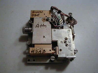 7.5 Ghz Parametric Amplifier W Mmw Pump Source Military Dscs Cool Item