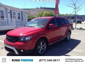 2017 Dodge Journey Crossroad- $205 B/W 7 PASSENGER..AWD..HEATED
