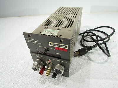 Lambda Lq-411 Regulated Power Supply