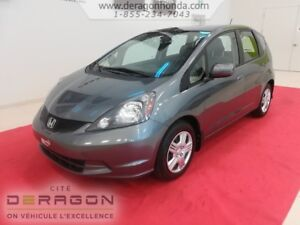2014 Honda Fit LX + AUCUN ACCIDENT + GARANTIE PROLONGEE LX + NO