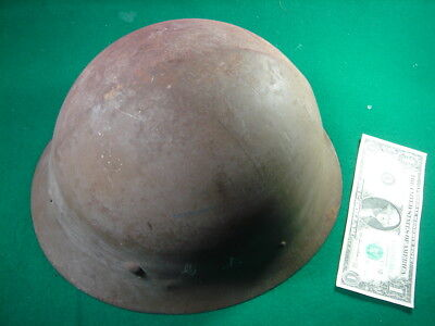 Japanese Volunteer fire department Helmet ANTIQUE