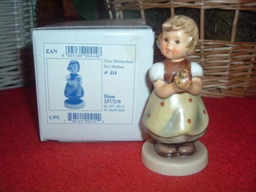 HUMMEL  For Mother, 257/2/0, TMK-7, NEW, Mint, w/Original Box