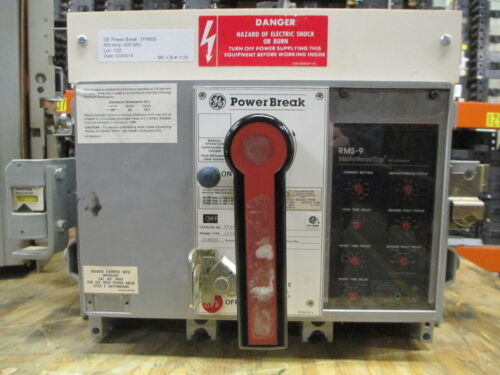 Ge Powerbreak Tp88ss 800a 3p 600v Mo/do Circuit Breaker W/ Lsig Used E-ok