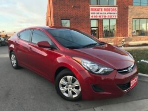 2013 Hyundai Elantra 4 DOOR 6 SPEED