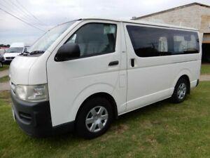 2009 Toyota HiAce TRH201R MY10 LWB White 5 Speed Manual Van Moorabbin Kingston Area Preview