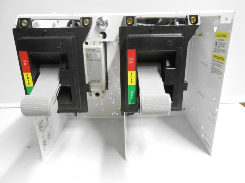 EATON Dual MCC Bucket w/ 15 AMP Breakers (6639C86G84) HFD 65k