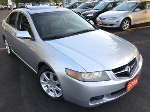 2005 Acura TSX AUTO/LEATHER/SUNROOF/HEATED SEATS/ALLOYS/LIKE NEW