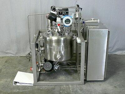 Dci 50 Liter 316l Stainless Filler Vessel W Valves Sensors Manuals More