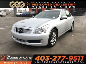 2009 Infiniti G37 Luxury / Leather / Sunroof / Bluetooth