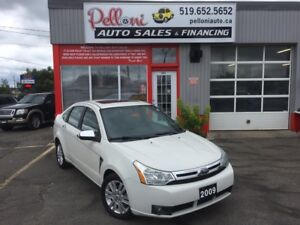 2009 Ford Focus SEL|LEATHER|SUNROOF|NO ACCIDENTS